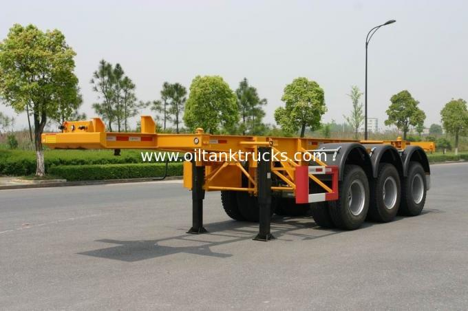 40ft Carbon-steel Container Trailer Chassis