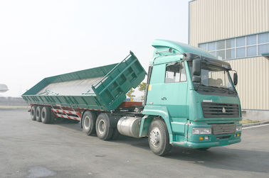 চীন  3 Side Dump Trailer with BPW & SAF Air suspension system সরবরাহকারী